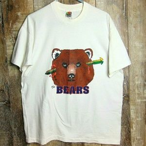 90s Green Bay Packers Fan Shirt The Bears Size XL